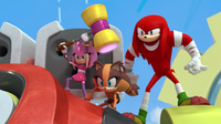 Amy Sticks Knuckles joins the fight