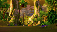 SB S1E25 Forest evening background