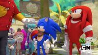 SB S1E41 Sonic Knuckles refuse