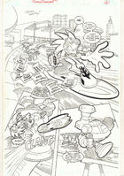 Sonic the Hedgehog -163 p.1 - Sonic Riders Pt. 1 - 2006 art by Tracy Yardley!