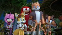 S2E01 Tommy and Sonic's friends