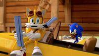 SB S1E15 Tails Sonic blueprints