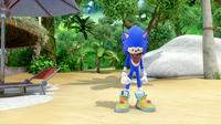 SB S1E19 Sonic sad shack