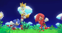 Tails and knuckles mii fighter outfit