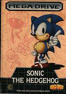 Carátula Sonic 1 (Brasil)
