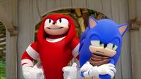SB S1E10 Sonic Knuckles daydream
