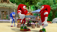 SB S1E35 Knuckles And...Knuckles