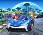 TSR Team Sonic art