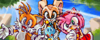 Tails Amy Cream and Cheese reunited with Sonic v2