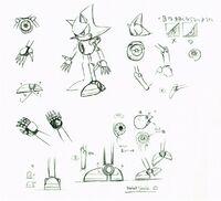 Metal Sonic Concept Art 01