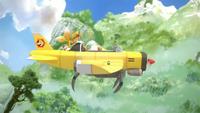 SB S1E18 Tails hijack plane