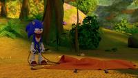 SB S1E25 Sonic tent fail