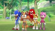 SB S1E29 Team Sonic forest