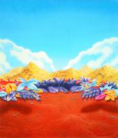 Sonic 3 Sega Mega Drive II bundle background artwork front