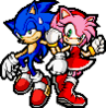 Sonic and Amy - Lovely Couple SA3