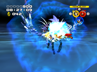 Metal Overlord ATTACK crystal attack