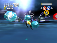 Metal Overlord ATTACK crystal attack 3