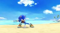 SB S1E19 Sonic battle stance beach