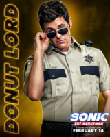 Sonic the Hedgehog - Tom Wachowski Poster