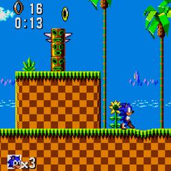 Green Hill Zone (8-bit)