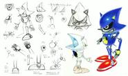 Metal Sonic koncept 1