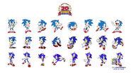 Sonic 20th tapeta 2