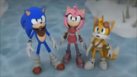 SBFAI Sonic Amy and Tails