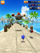 Sonic Dash screen 21