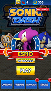 Sonic Dash screen 30