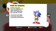 Classic Sonic profile