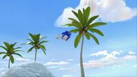 S1E11 Sonic fly tree