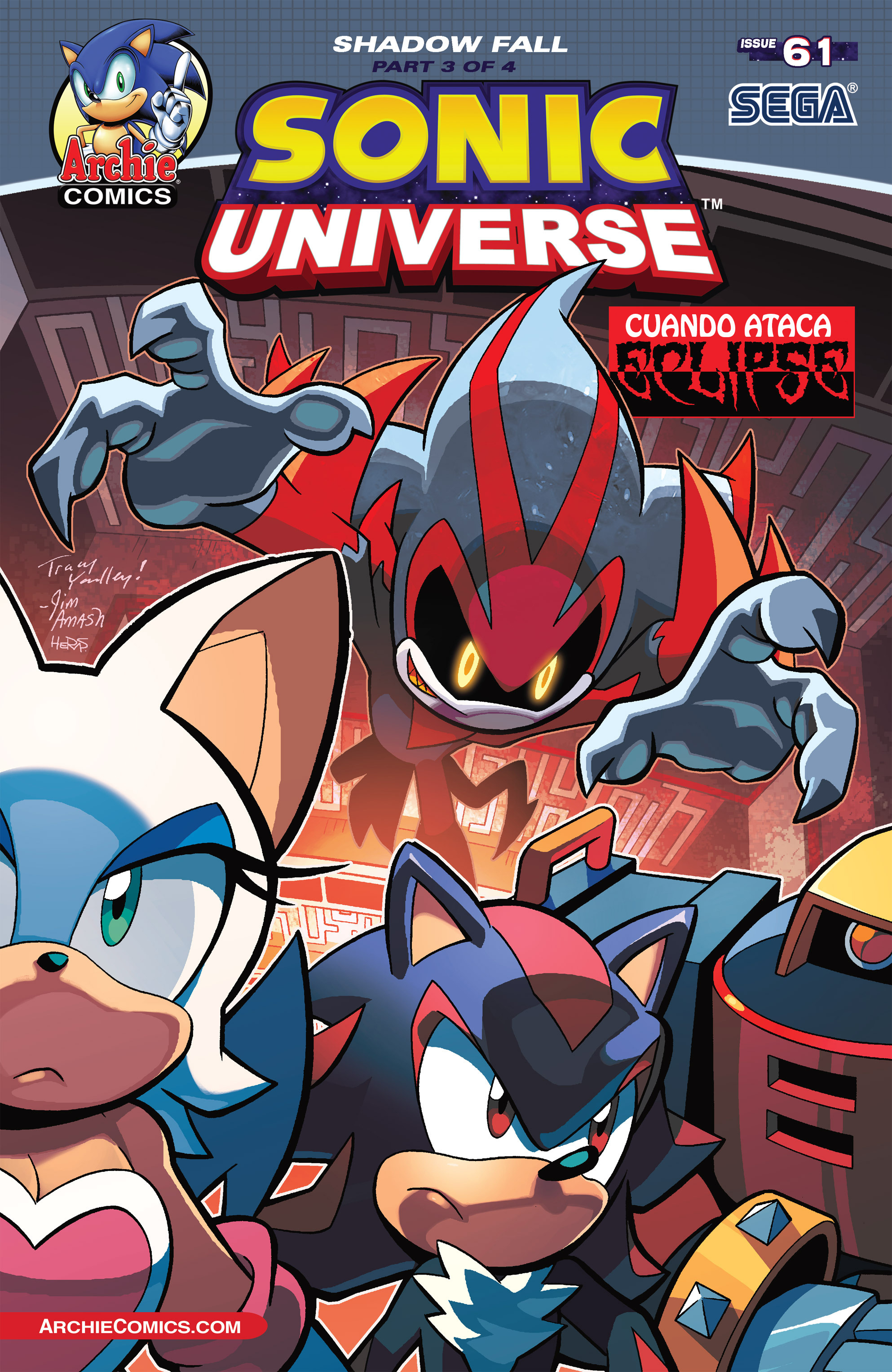 Sonic Universe Issue 61