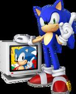 Sonic Channel 3D Sonic art 5