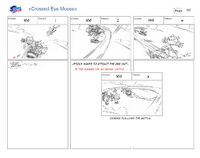 Cross Eyed Moose storyboard 5