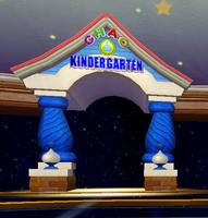 Kidergarten door
