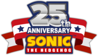 Sonic 25th Anniversary logo alt