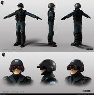 GUN Soldier koncept