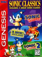 Sonic Classics 3 in 1 - Sega Genesis