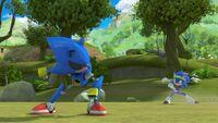 S1E44 Metal Sonic vs Sonic