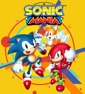 Sonic Mania cover clean