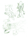 Metal Sonic CD concepts 5