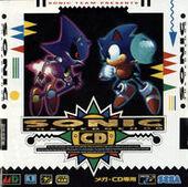 Sonic CD jp box art