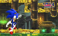 Sonic The Hedgehog 4 - Episode 1- Wallpaper - (3)