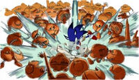 Sonic Unleashed concept punch