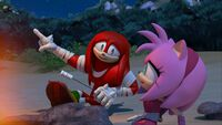 S1E14 Knuckles Amy point