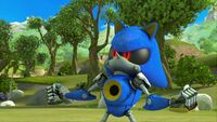 S1E44 Metal Sonic pose