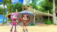 SB S1E19 Amy Sticks Sonic's Shack