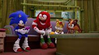 SB S1E50 Team Sonic couch