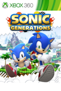 Sonic Generations XONE box art
