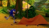 SB S1E25 Sonic tent attempt